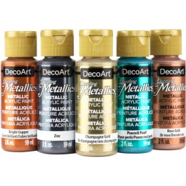 NEW Metallic Acrylic Paints
