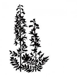 Embossing Folder - Condolence Flowers #2