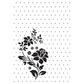 Embossing Folder Vintasia - Rose Ornament