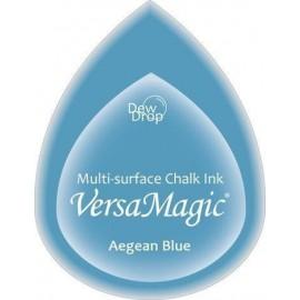 Versa Magic Chalk Ink Pad - Aegean Blue, 3,5x5 cm
