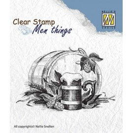 Clear Stamps Men Things - Beer-time