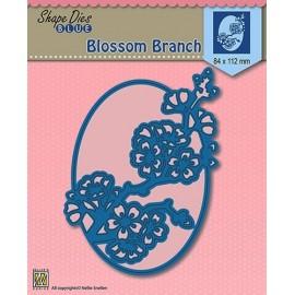 Shape Dies Blue - Blossom Branch