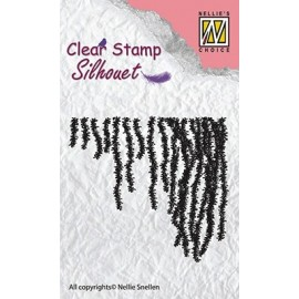 Clear Stamps Silhouette - Hanging Flowers