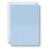 A4 Background Sheets - Squares, blue, nr.12