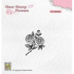 Clear Stamps Flowers - Rose Twig