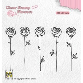 Clear Stamps Flowers - Roses