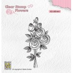 Clear Stamps Flowers - Bouquet Roses #2