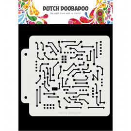 Dutch Doobadoo Mask Art - Motherboard