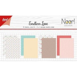 Joy! Crafts Papier Set - Endless Love, A4