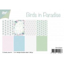 Joy! Crafts Papier Set - Birds in Paradise, A4