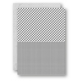 A4 Background Sheets - Squares, black