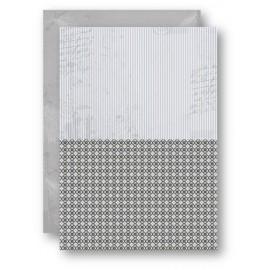 Nellie Snellen - A4 Background Sheets - Strips, black