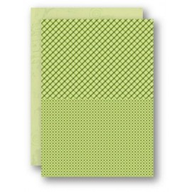Nellie Snellen - A4 Background Sheets - Squares, green