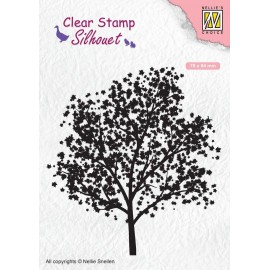 Clear Stamp - Silhouet Tree
