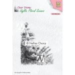Clear Stamps Idyllic Floral Scenes - Birds nest