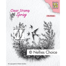Clear Stamp Spring - Spring is in the air