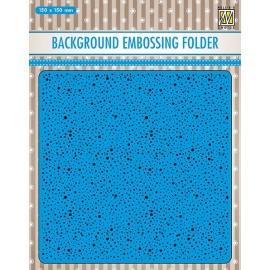 Background Embossing Folder - Dots