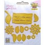 Shape Dies - Easter Build-up dies flower basket