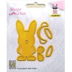 Shape Dies - Easter Build-up dies macho hare