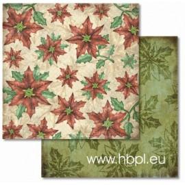 URSUS - Premium Glitter Scrapbook Paper Collection - Christmas #71, 30x30 cm