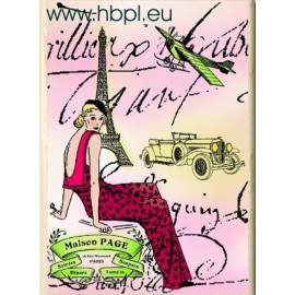 Hampton Art Paris Diva Stamp