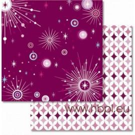 URSUS - Premium Glitter Scrapbook Paper Collection - Dream #55, 30x30 cm