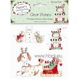 Clear Stamps - Snow Fun