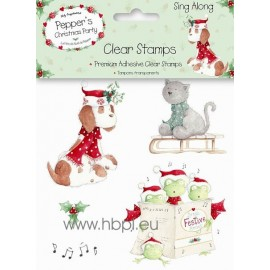 Clear Stamps - Sing Along
