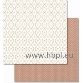 URSUS - Classic Christmas Collection - cream/brown, #01, 30x30 cm