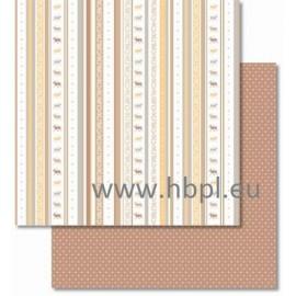 URSUS - Classic Christmas Collection - cream/brown, #04, 30x30 cm