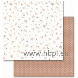URSUS - Classic Christmas Collection - cream/brown, #05, 30x30 cm