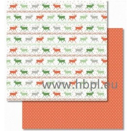 URSUS - Classic Christmas Collection - red/green, #02, 30x30 cm