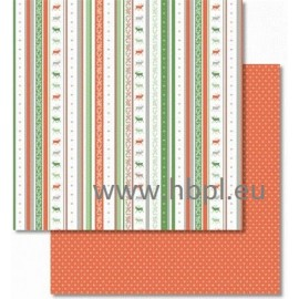 URSUS - Classic Christmas Collection - red/green, #04, 30x30 cm