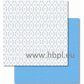 URSUS - Classic Christmas Collection - blue/brown, #01, 30x30 cm