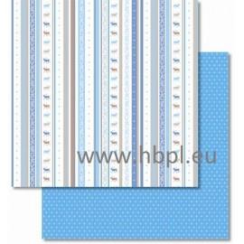 URSUS - Classic Christmas Collection - blue/brown, #04, 30x30 cm