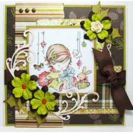 Clear stamps Christmas with Dawn