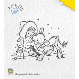 Clear stamps Koetie child