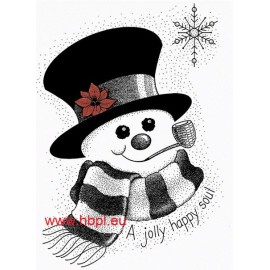 Hampton Art Frosty Stamp
