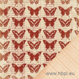 MakingMemories - Sienne Collection - Butterfly Ledger, 30x30 cm