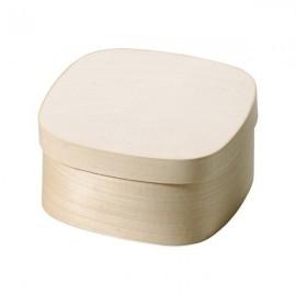 FSC Chip Wood Box - Square, 8,5 cm x 8,5 cm x 5,5 cm