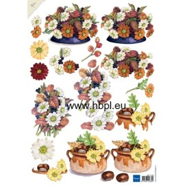 Marianne Design - 3D Cutting Sheet - Flower
