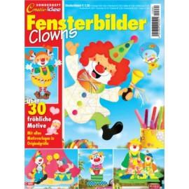 Creativ Idee Sonderheft: Fensterbilder Clowns