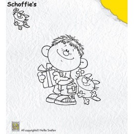 Clear stamps Schoffie's - Congratulations