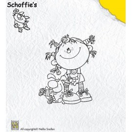 Clear stamps Schoffie's - Taily Hair