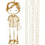 Clear stamps J&J boy & lines