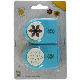 Floral punch set small flower - 3