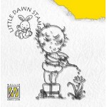 Clear stamp Little Dawn, Watering, 5,5X7CM
