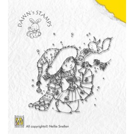 Clear Stamp Christmas with Dawn - Sharing a Biscuit