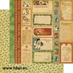Graphic 45 - Christmas Emporium Collection - Special Delivery, 30x30 cm