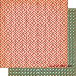 Cosmo Cricket - Dear Mr.Claus Collection - Fa La La La La, 30x30 cm